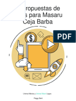 Masaru Ceja Barba Logotipos