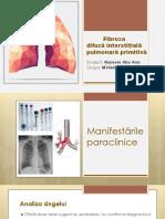 Fibroza pulmonara interstitiala