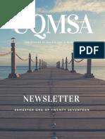 UQMSA Newsletter 2017