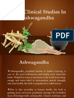 Clinical Studies in Ashwagandha
