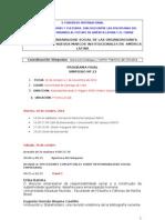 PROGRAMA del SIMPOSIO Responsabilidad Social de Las Organizaciones II CONGRESO INTERNACIONAL CIENCIAS, TECNOLOGÍAS Y CULTURAS. DIÁLOGO ENTRE LAS DISCIPLINAS DEL CONOCIMIENTO.  MIRANDO AL FUTURO DE AMÉRICA LATINA Y EL CARIBE  - 2010