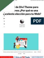 Divi Theme para WordPress ¡La mejor opción para tu Web!.pdf