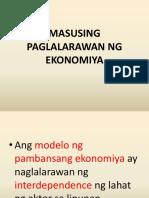 Ang Payak Na Daloy Ng Ekonomiya