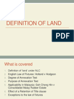 Definition of Land