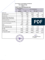 Engineering college fees structure