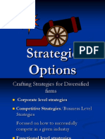 Strategic Options Strategy Lectures