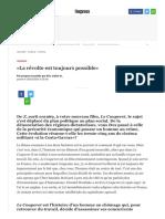 «La Révolte Est Toujours Possible» - L'Express-2
