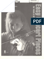 Easy Concert Pieces for Violin & Orchestra