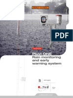 Rain Monitoring and Early Warning System