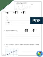 Using Vectors Worksheet
