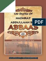 100StoriesAboutHadhratAbdullaahBinAbbaasraByShakyhMuhammedUwaisSaror.pdf