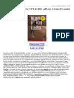 Manual Del Buen Bolsista (12ª Ed)