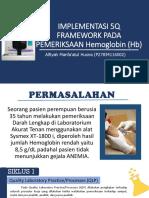 Implementasi 5q Framework Pada Pemeriksaan Hemoglobin (Hb