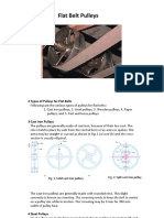 2 Flat Pulley