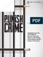Punish the Crime - UNESCO Report On Journalists' Safety