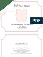 Updated Bodice Skirt Pattern