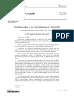 Resolusi PBB No 64-255 Tahun 2010 DoA Road Safety