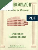 Derecho Romano II. Derechos Patrimoniales.pdf
