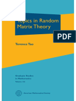 (AMS Graduate studies in mathematics 132) Terence Tao - Topics in Random Matrix Theory-American Mathematical Society (2012).pdf
