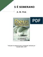 A. W. Pink - Deus é soberano (tradução).doc