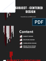 Subject - centered design