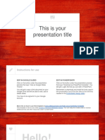 Jourdain · SlidesCarnival Ppt Template