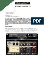 CineSamples - CineWinds CORE 1.1 User Manual
