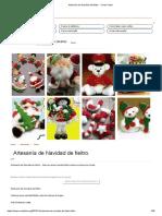 Artesanía de Navidad de fieltro. - Como Fazer.pdf