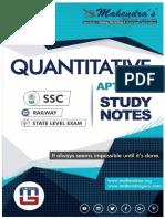 Study Notes Maths 03-08-18