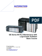 Series 90 PLC Maintenance With Logicmaster 90