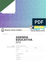 Agenda Educativa 2019 CABA