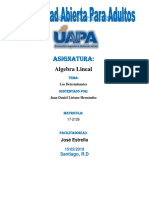 Unidad IV Juan Daniel Algebra Lineal