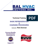 Basic Refrigeration and Charging Procedures 3-04-2009
