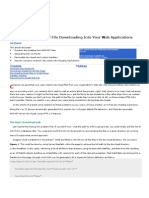 Web Downloads Info Msdn