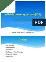 1. Prof Marcellus-Irritable Bowel Syndrome