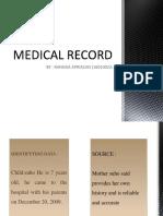 MEDICAL RECORD RANGGA.pptx