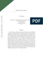 Virtual Black Holes