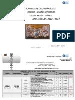 Didactic 2018 2019 Planificare Calendaristica Clasa Pregatitoare (1)Sandra