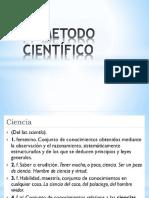 El Metodo Científico