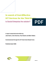 ICT Support - Is Social Enterprise the Solution FINAL