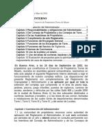 reglamento interno consorcio