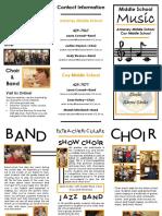 5th grade brochure 2019