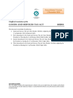 GST Act Consolidated English 20141201 1
