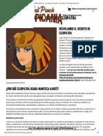 Belleza Natural - La Manteca de Karité y El Secreto de CleopatraTropicania
