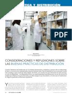 COnsideraciones y recomendaciones sobre la distribución