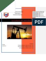 La Cultura Del Petróleo