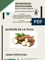 PRESENTACIÓN DE ALMIDÓN DE LA YUCA