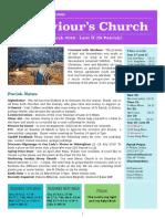 st saviours newsletter - 17 march 2019