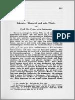 Erdmann Iskender Munschi Und Sein Werk ZDMG1861