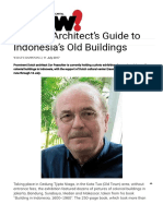 A Dutch Architect's Guide to Indonesia's Old Buildings